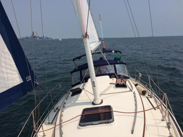 Teliki off Toronto harbour