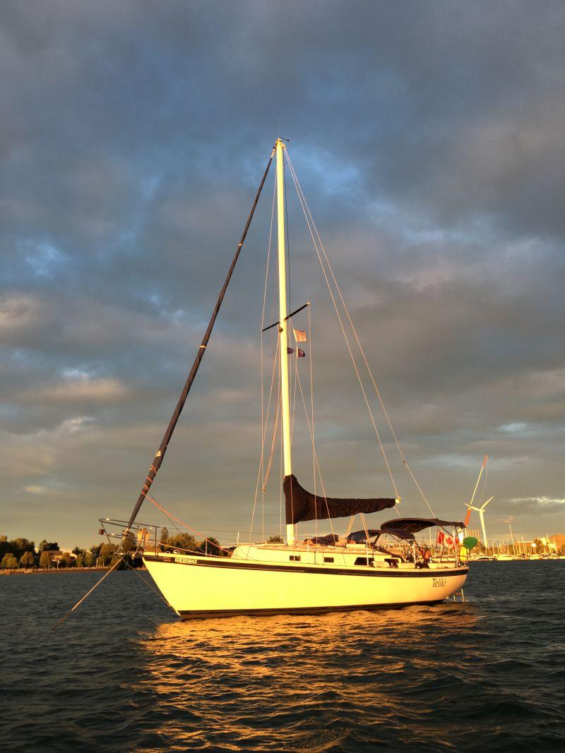 Teliki - sundown at Frenchmans Bay