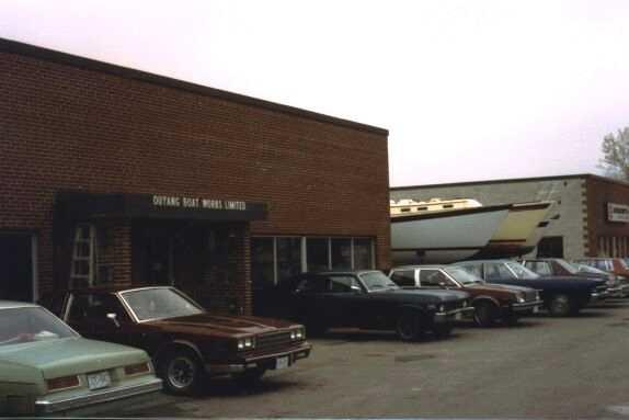 1982 – Ouyang Boat Works, Pickering Ontario