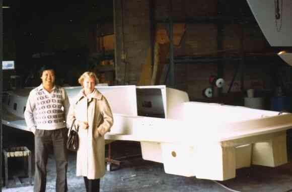 1982 – Mao Ouyang and Diana Turner